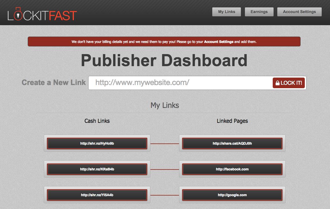 link gateway dash