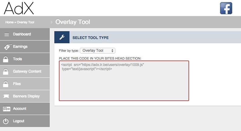 overlay tool dash